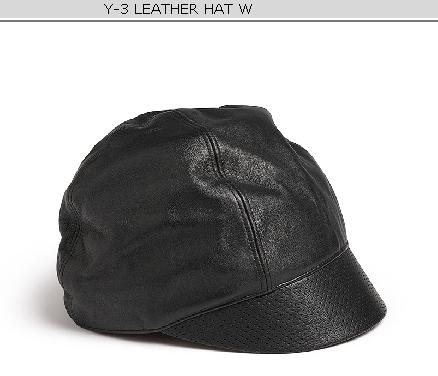Y-3 leather hat